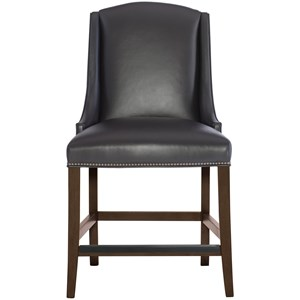 Leather Counter Height Stool