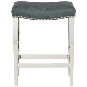Bernhardt Interiors - Thorpe Leather Counter Height Stool