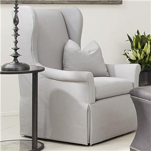 Bernhardt Interiors - Chairs Weston Upholstered Wing Chair