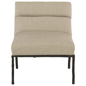 Bernhardt Interiors - Chairs Isaac Armless Chair