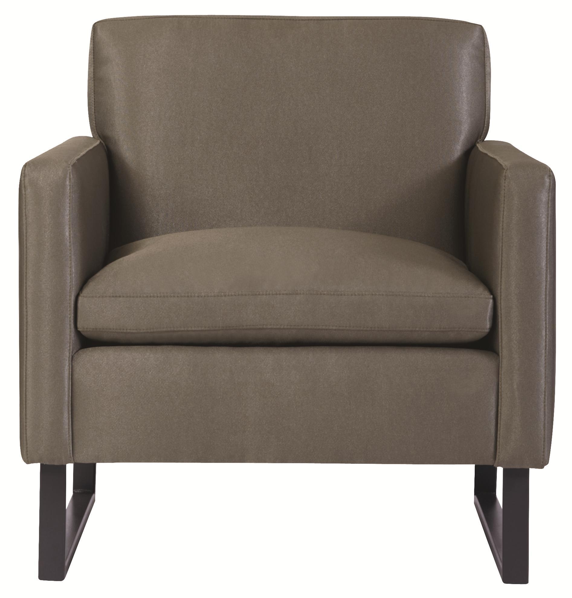Bernhardt Interiors Jaxon Chair - Item Number: N3522