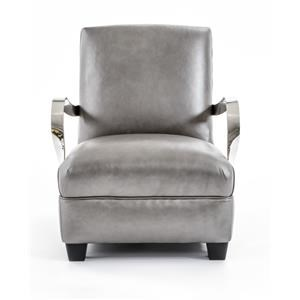 Bernhardt Interiors-Chairs Markham Leather Chair
