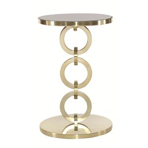 Bernhardt Jet Set Round Chairside Table