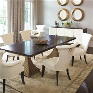 Bernhardt Jet Set 7 Piece Dining Set