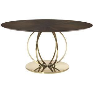 Bernhardt Jet Set Round Dining Table