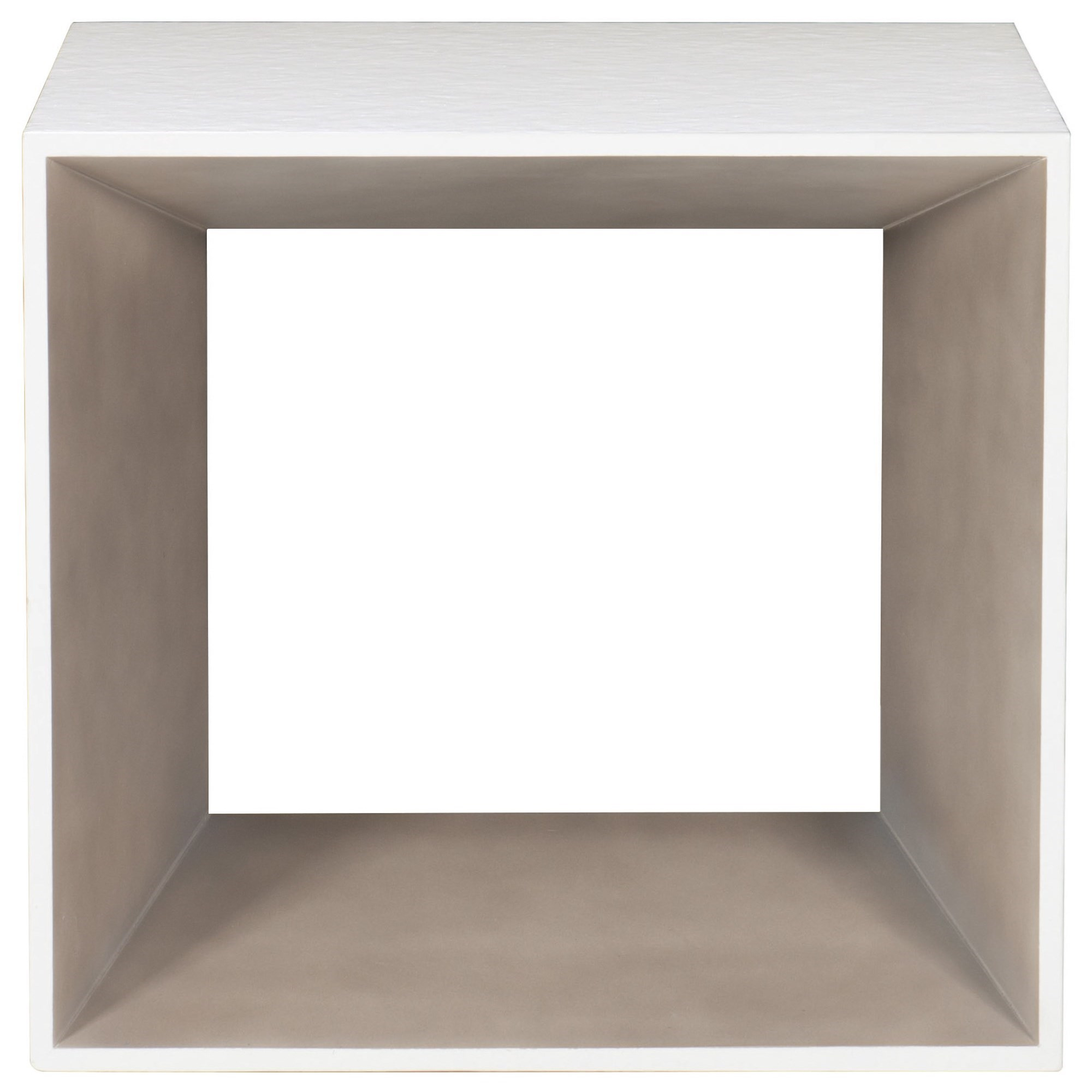 Bernhardt Kearny 456-122 Contemporary Two-Toned Square End Table ...