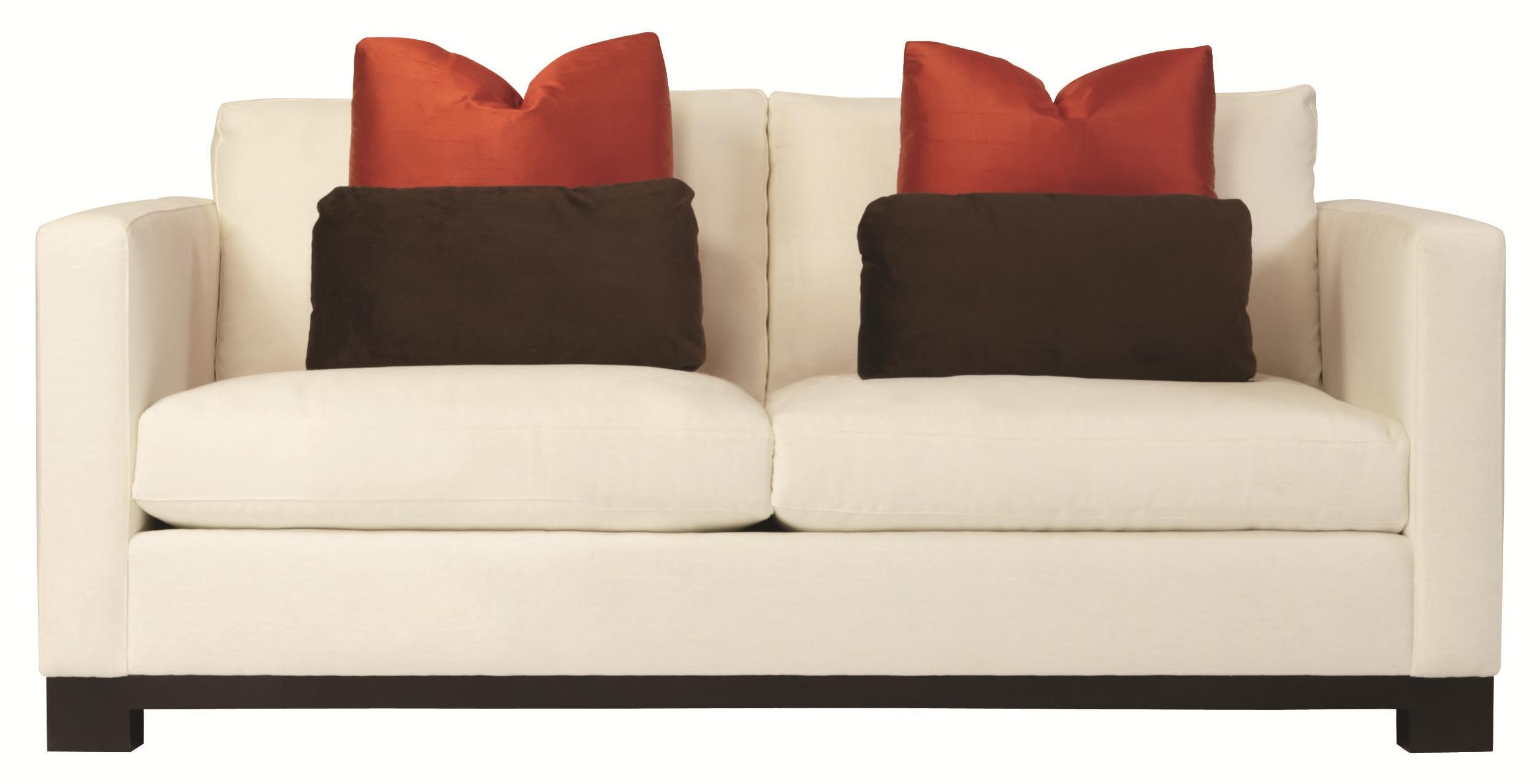 Bernhardt Lanai Modern Upholstered Loveseat with Sleek and  : products2Fbernhardt2Fcolor2Flanai20n165n1655 b from www.reedsfurniture.com size 2512 x 1280 jpeg 116kB
