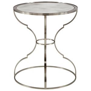Bernhardt Laurel Round Metal End Table