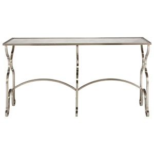 Bernhardt Laurel Metal Console Table