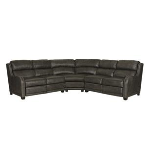 Bernhardt Lennox Power Reclining Sectional