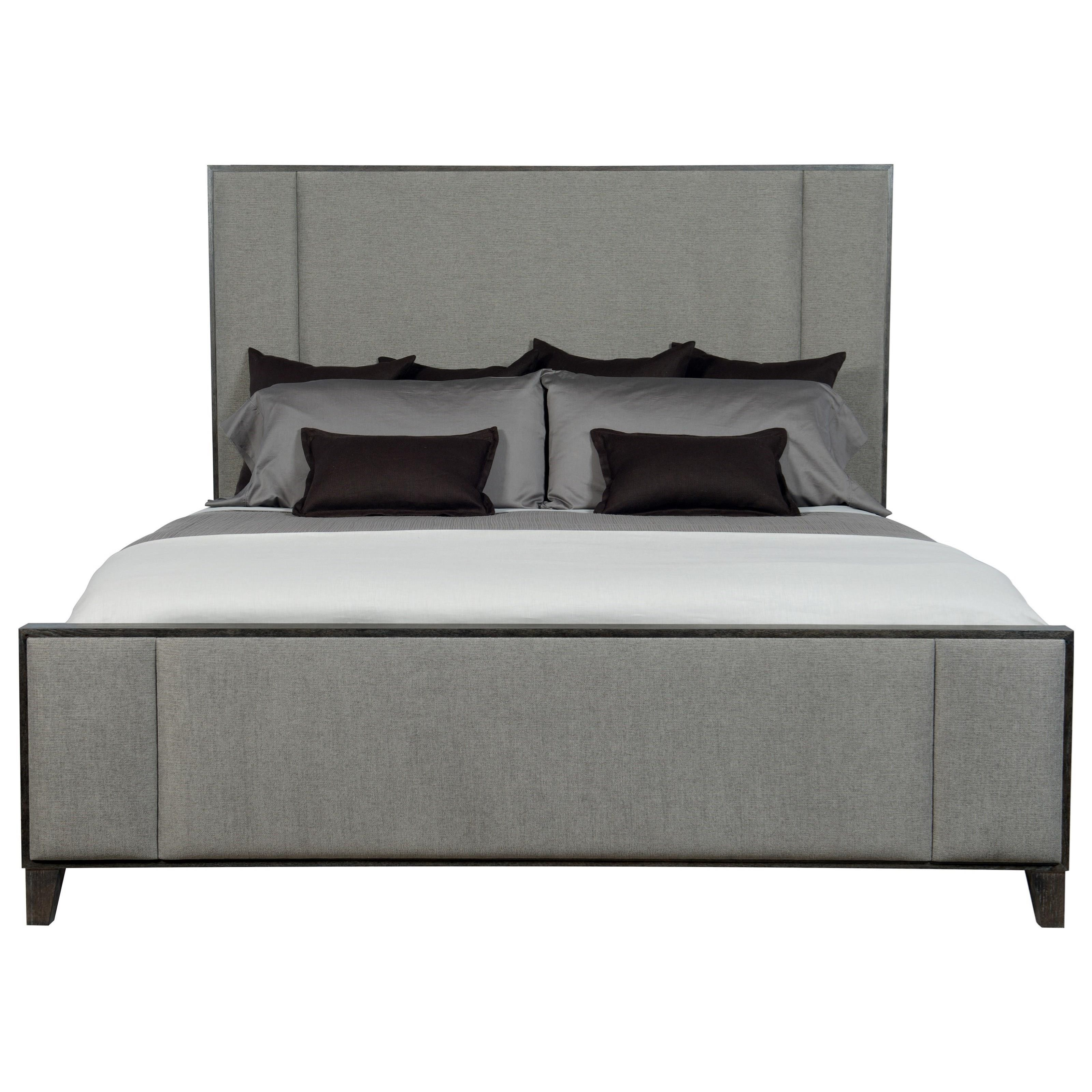 Customizable Queen Upholstered Panel Bed