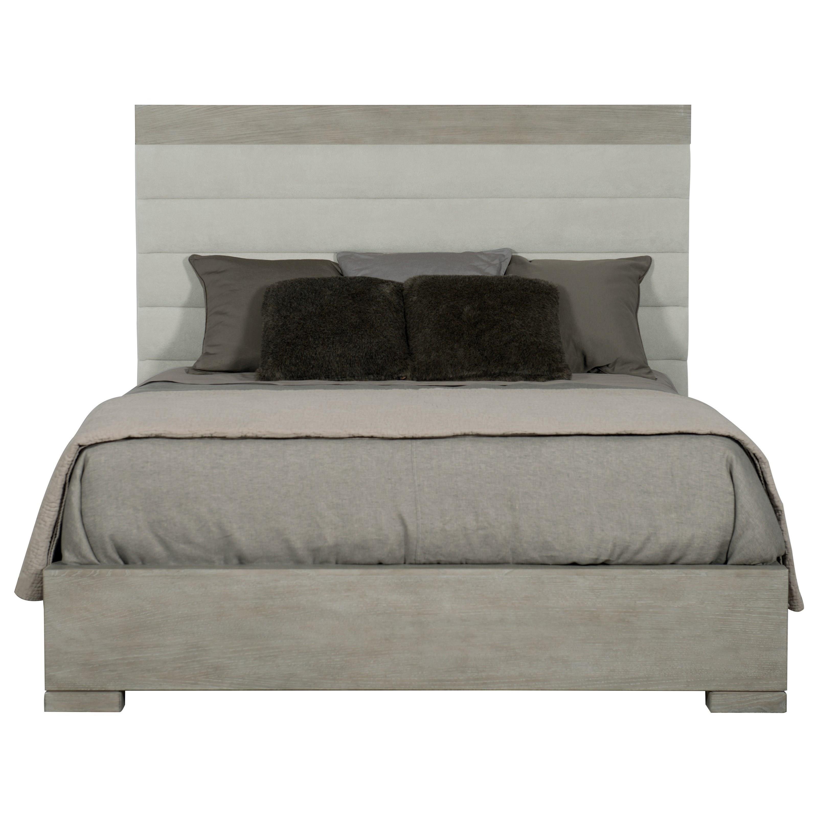 Awe Inspiring Bernhardt Linea Customizable Transitional Queen Upholstered Interior Design Ideas Pimpapslepicentreinfo