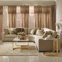 Bernhardt Lockett Sectional Sofa (Seats 5) - Item Number: B2142+160+141
