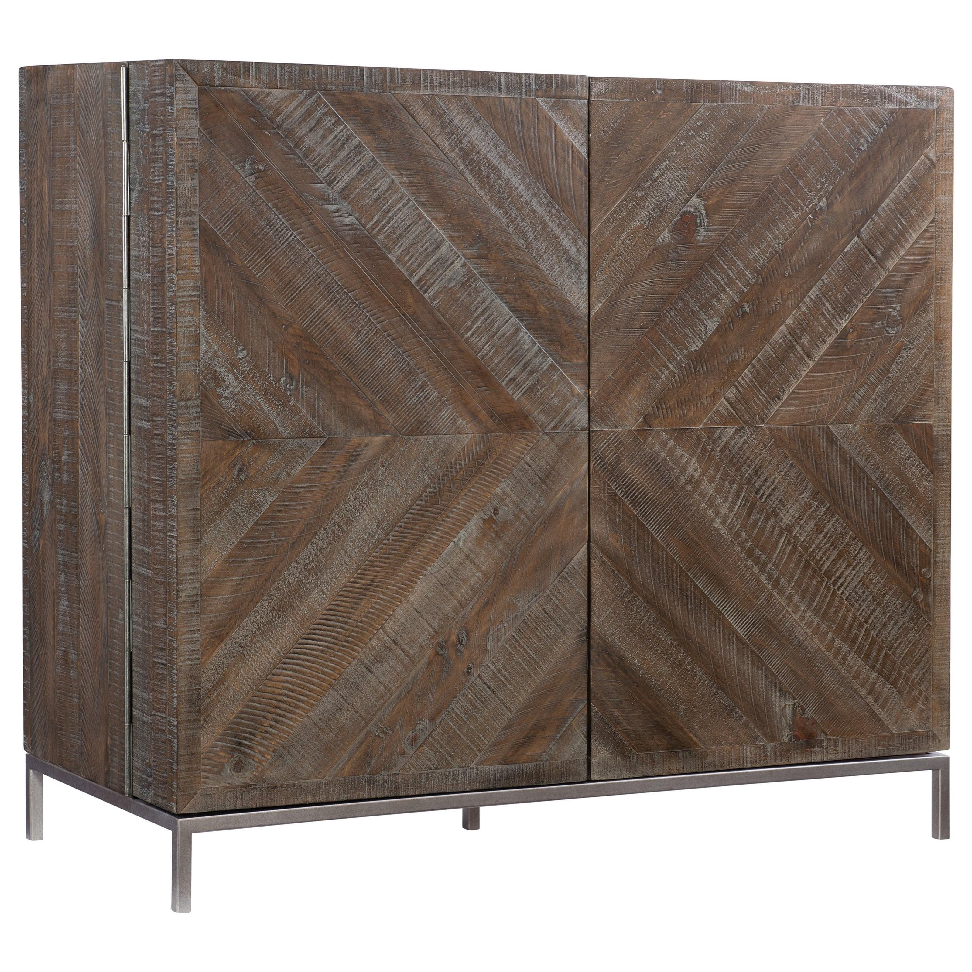 Loft - Logan Square Parkside Bar Cabinet by Bernhardt at Baer's Furniture