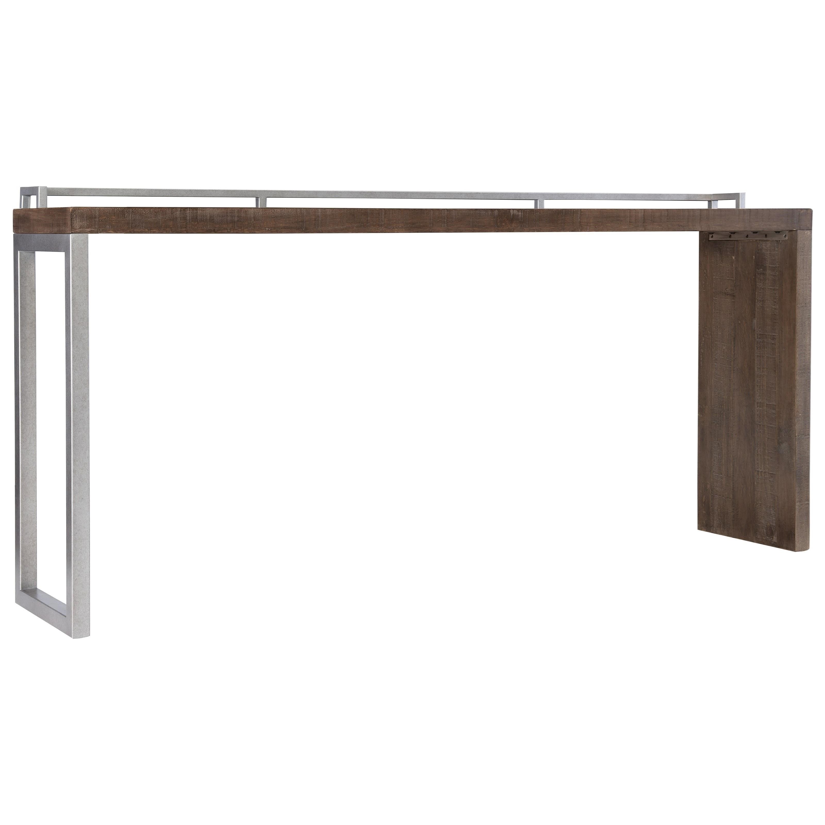 Loft - Logan Square Reilly Console Table by Bernhardt at Baer's Furniture