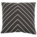 "Bernhardt Luxe Pillows Large Herringbone (22"" x 22"") - Item Number: LP177"