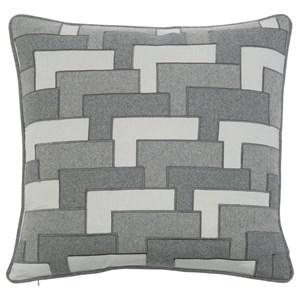 "Layered Pocket Square (22"" x 22"")"