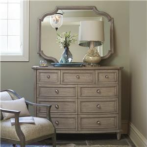 Bernhardt Marquesa Dresser and Mirror Set