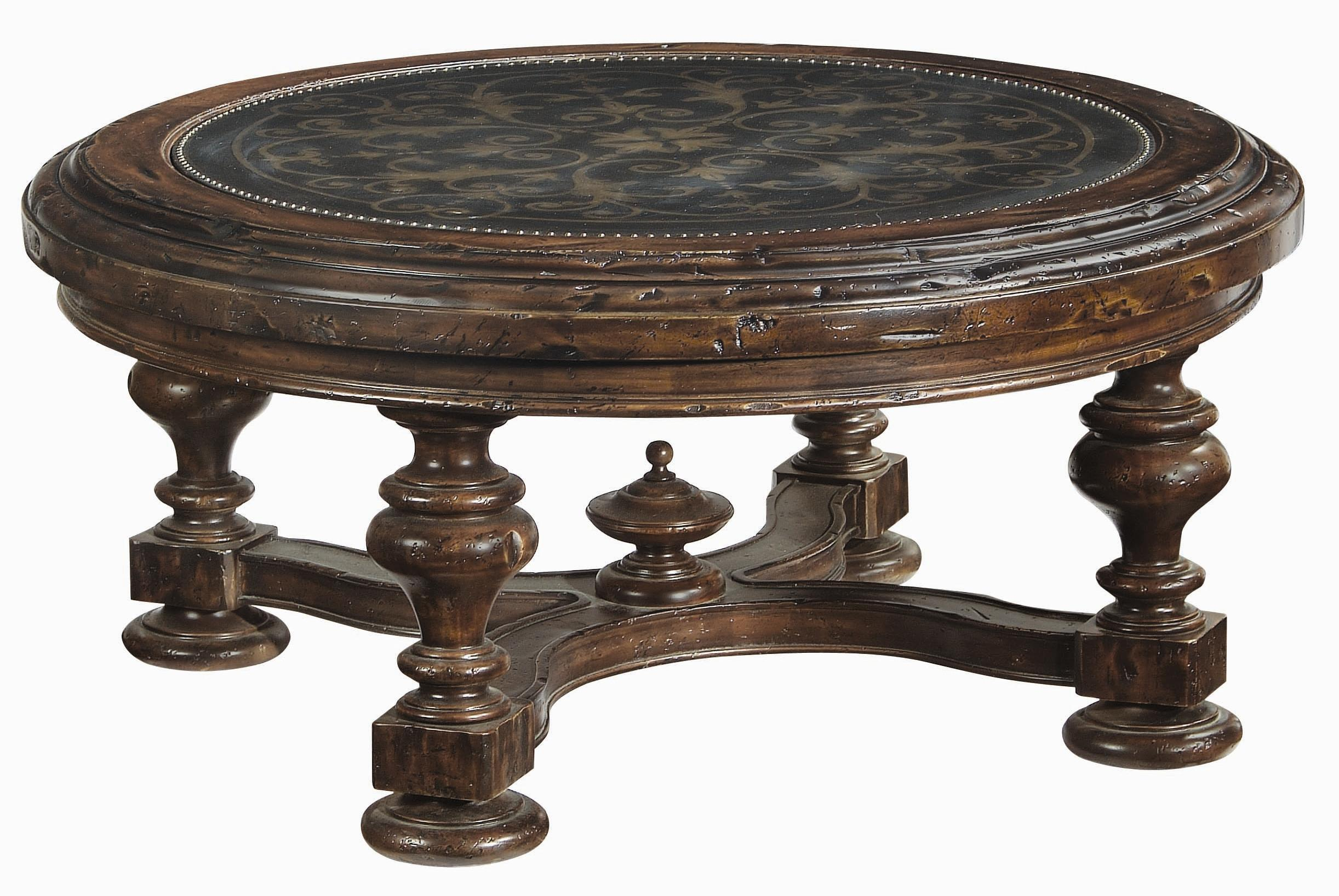 Bernhardt Marquis Round Cocktail Table - Item Number: 437-015