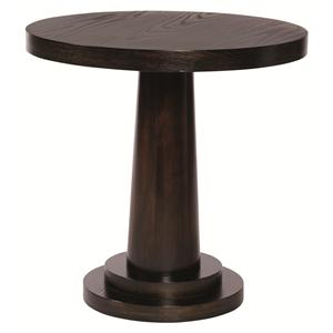 Bernhardt Mercer  Round End Table