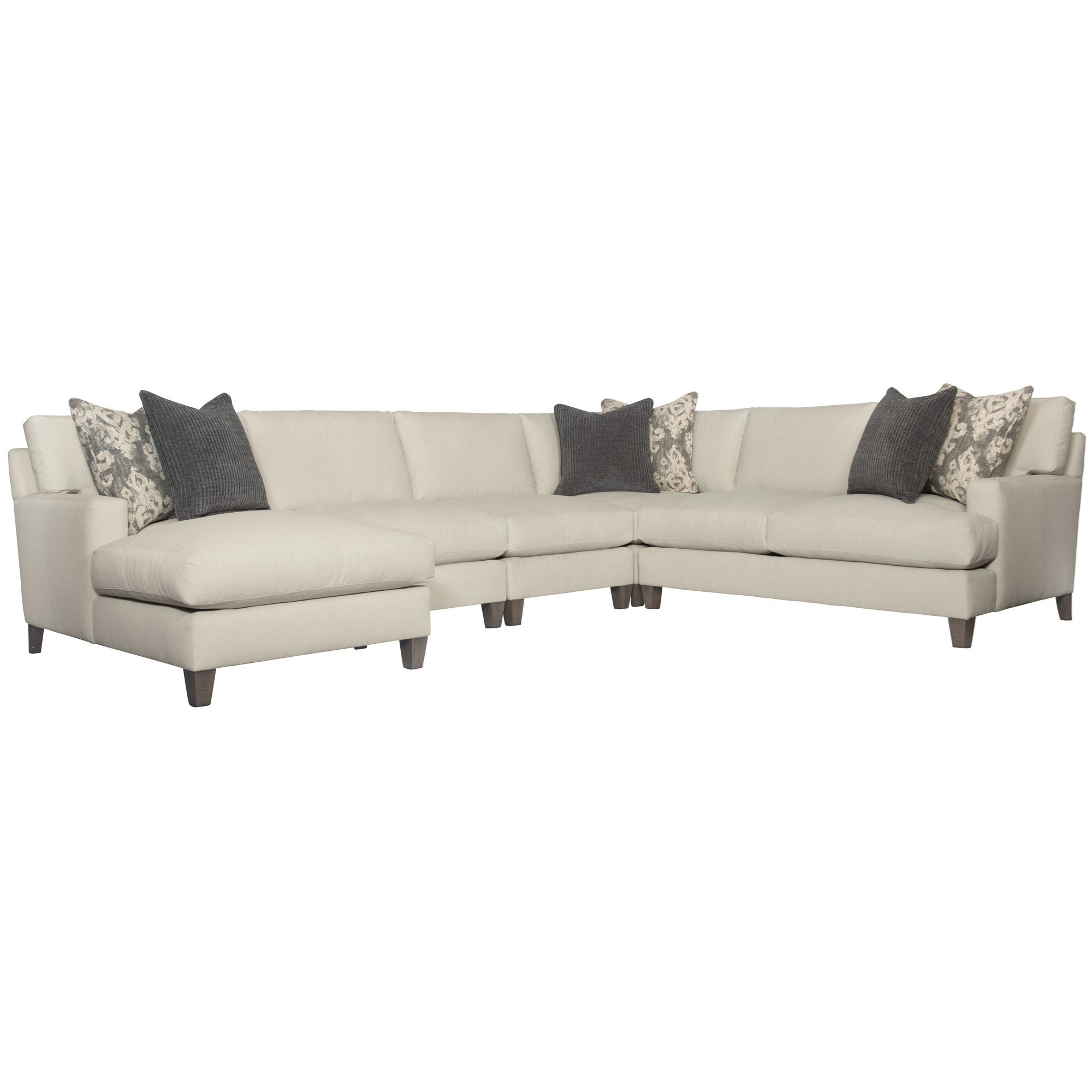 Mila 5-Piece Sectional by Bernhardt at Baer's Furniture
