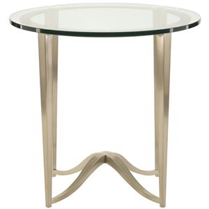 Bernhardt Miramont Round Chairside Table