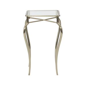 Bernhardt Miramont Metal Drink Table