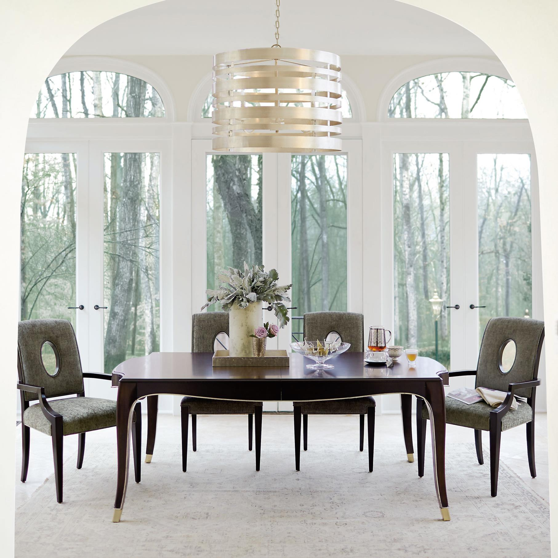 Bernhardt Miramont 5 Piece Dining Table And Chair Set