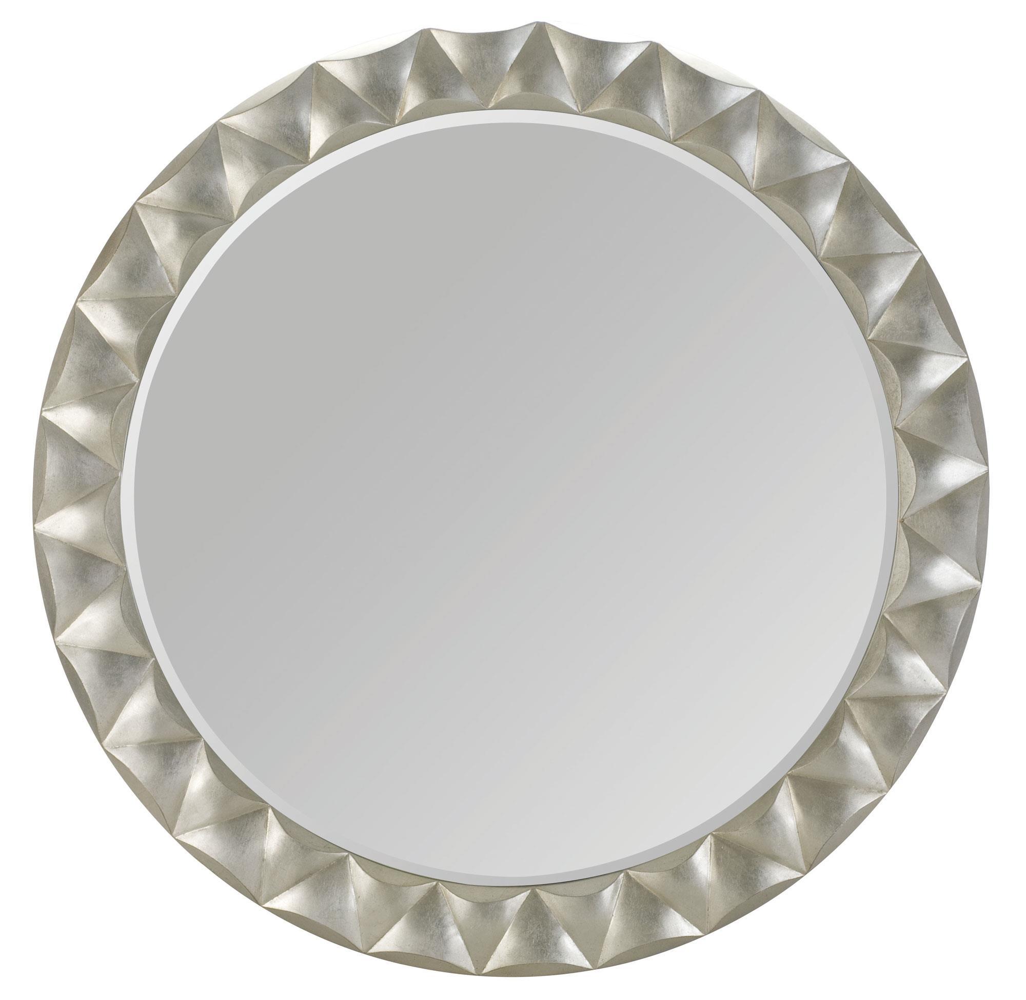 Bernhardt Miramont Round Mirror - Item Number: 360-334A