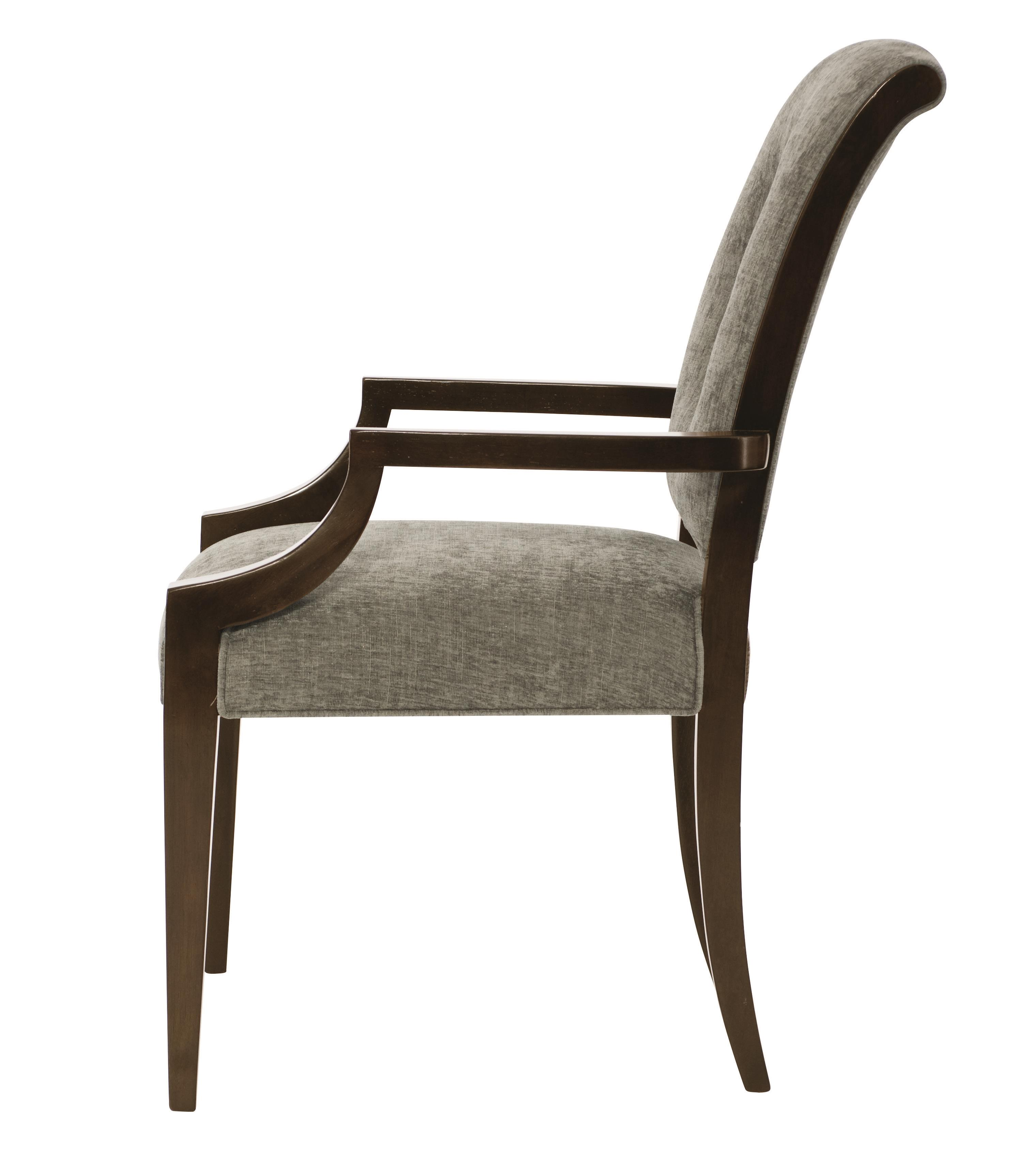 Bernhardt Miramont 360 566 Upholstered Dining Arm Chair
