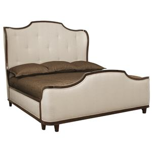 Bernhardt Miramont Queen Upholstered Sleigh Bed