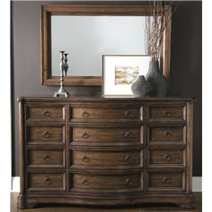 Bernhardt Montebella Dressing Chest and Mirror Set