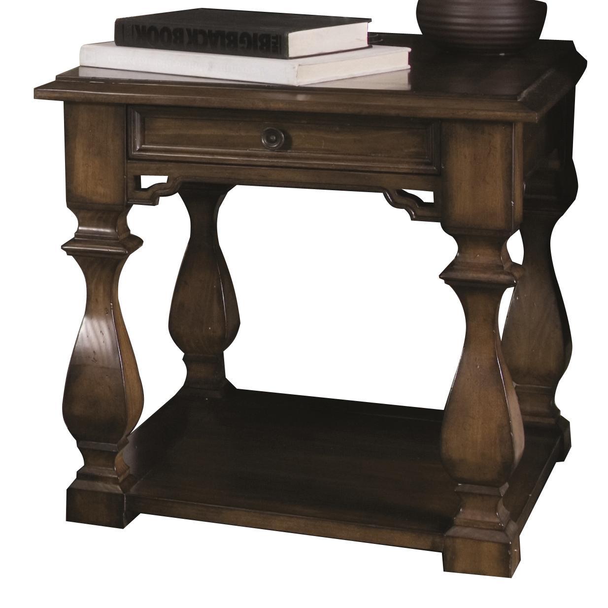 Bernhardt Montecello Montecello End Table - Item Number: 350-121
