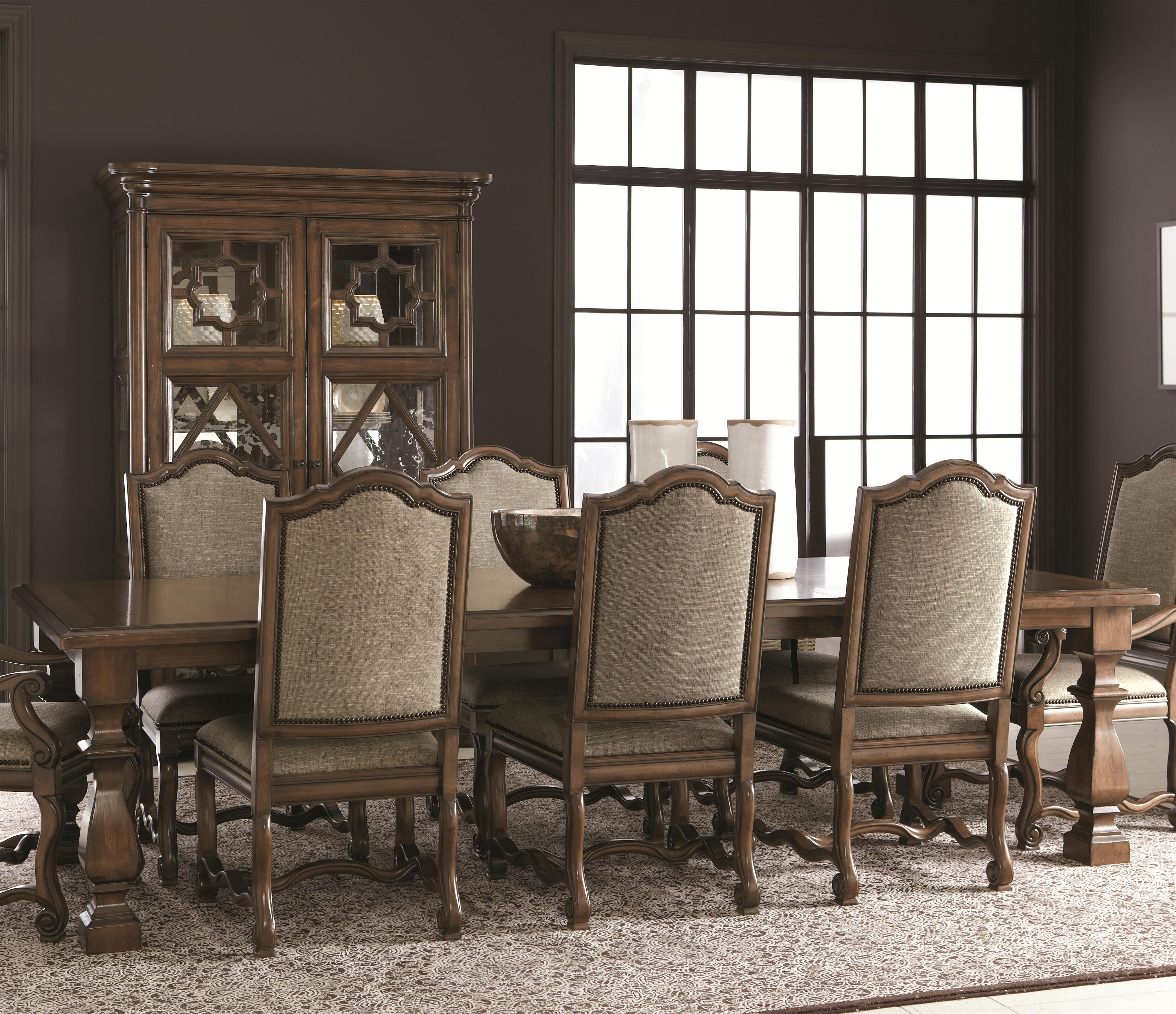 Bernhardt Montebella Dining Table - Item Number: 350-221