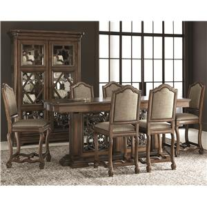 Bernhardt Montebella Gathering Table Dining Set
