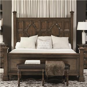 Bernhardt Montebella Queen Panel Bed