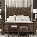 Bernhardt Montebella King Panel Bed - Item Number: 350-H39+F39+R39