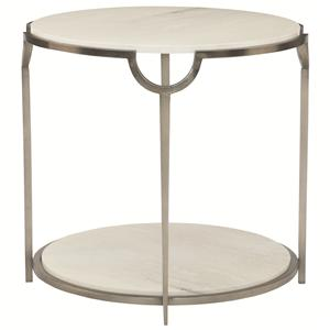 Bernhardt Morello Round End Table