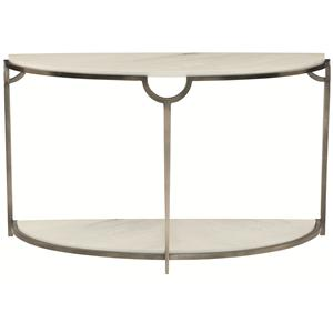 Bernhardt Morello Demilune Console Table
