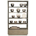 Bernhardt Mosaic Five Shelf Etagere - Item Number: 373-128