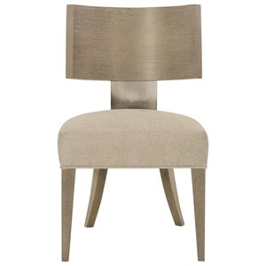 Side Chair with Upholstered Seat