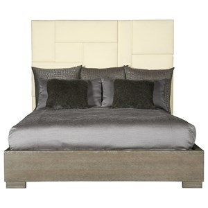 Customizable Upholstered Queen Bed