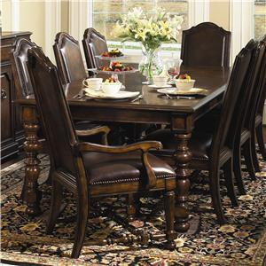 Bernhardt Normandie Manor 9 Piece Dining Set
