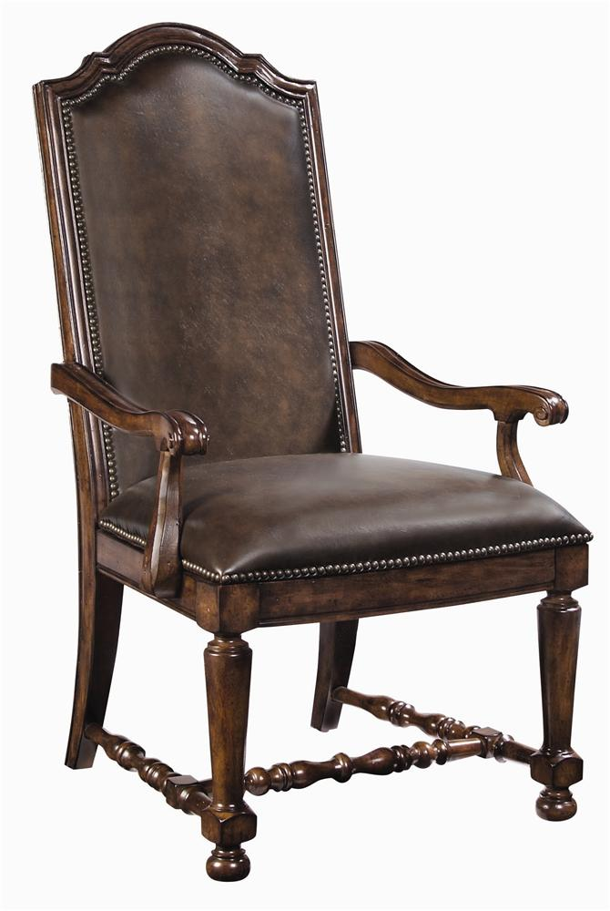 Bernhardt Nordheim Nordheim Leather Arm Chair - Item Number: 317-542