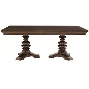 Bernhardt Pacific Canyon Double Pedestal Dining Table