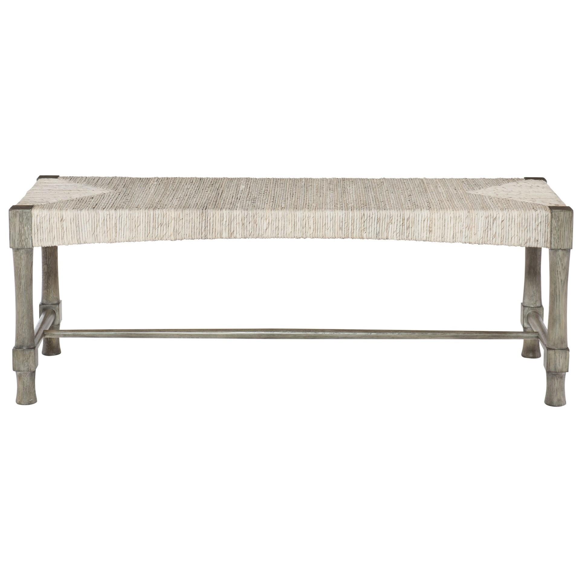 Bernhardt Palma 369 508 Woven Abaca Bed Bench Dunk