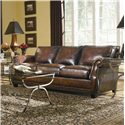 Bernhardt Parker Traditional Stationary Sofa - Shown in Living Room Setting