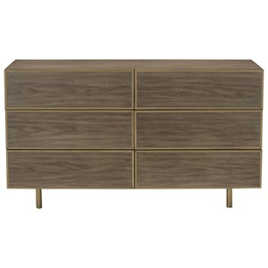 Bernhardt Profile 6 Drawer Dresser