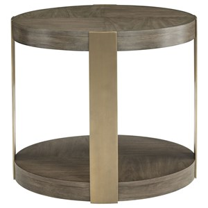Bernhardt Profile Round Chairside Table