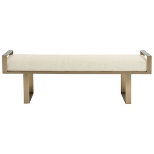 Bernhardt Profile Metal Bench